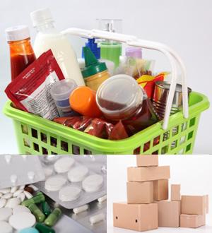 ドライ、日用品、医薬品の輸送